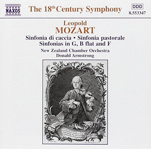 L. Mozart Sinf Di Caccia Sinf Pastorale Armstrong New Zealand Chbr Orc