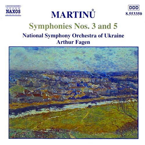B. Martinu Sym 3 5 Fagen Ukraine Natl So