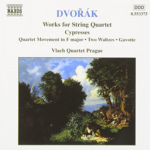 Antonin Dvorák Qt Str Vol. 5 Vlach Qt Prague