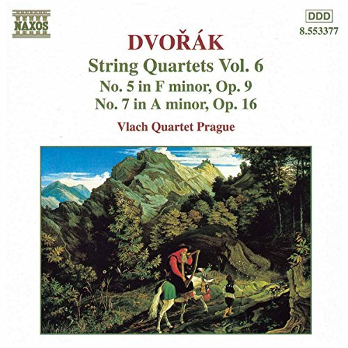 Antonin Dvorák Qt Str 5 7 Vol. 6 Vlach Qt Prague