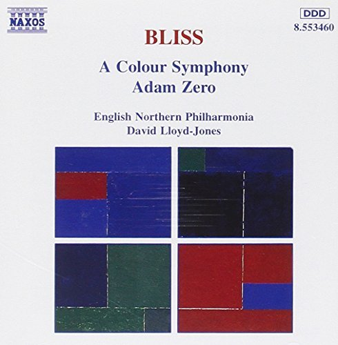 A. Bliss Colour Symphony Adam Zero Lloyd James English Northern P