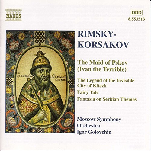 N. Rimsky Korsakov Ivan The Terrible Golovschin Moscow So
