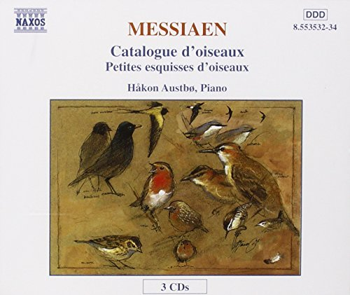O. Messiaen Catalogue D'oiseaux Austbo*hakan (pno) 3 CD