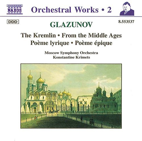 A. Glazunov Kremlin From The Middle Ages Krimets Moscow So