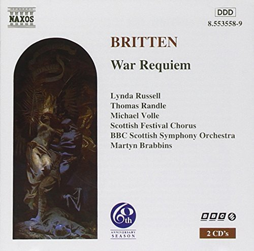 B. Britten War Requiem Russell Randle Volle Brabbins Bbc Scottish So