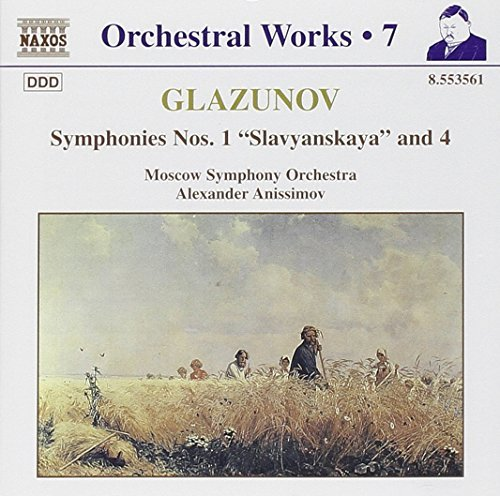 A. Glazunov Orchestral Works Vol. 7 Anissimov Moscow So