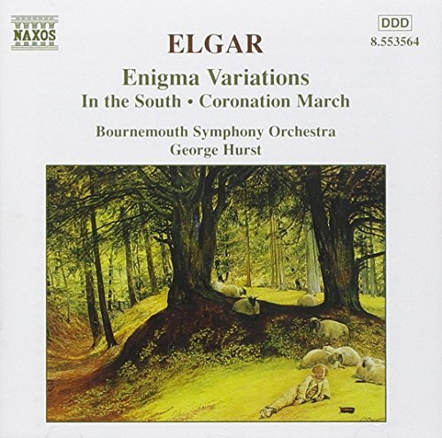 E. Elgar Enigma Variations Hurst Bournemouth So