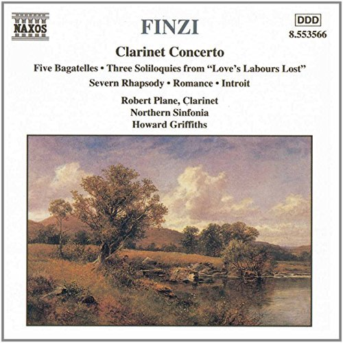 G. Finzi Clarinet Concerto Five Bagatel Plane*robert (cl) Griffiths Northern Sinf
