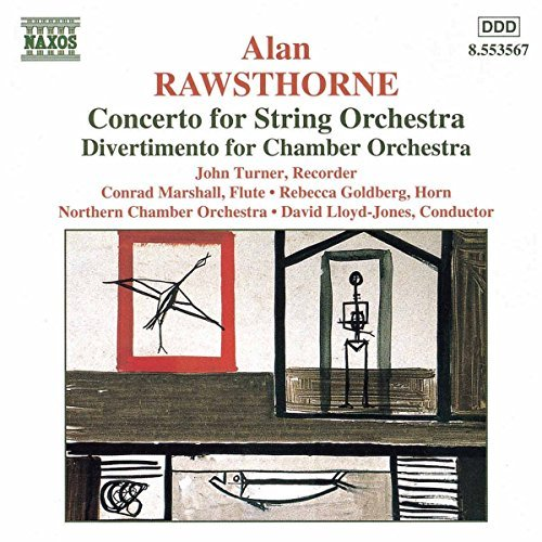 A. Rawsthorne Concerto For String Orchestra Lloyd Jones Northern Co