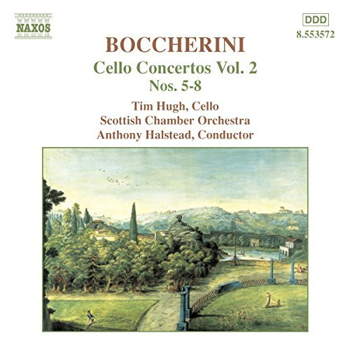 L. Boccherini Cello Concertos Vol. 2 Nos. 5 Hugh*tim (vc) Halstead Scottish Co