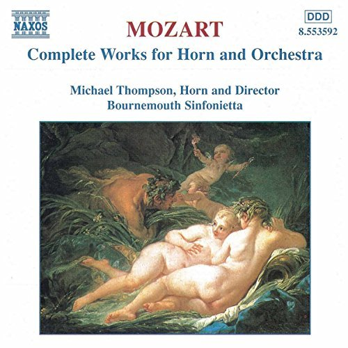 Wolfgang Amadeus Mozart Complete Works For Horn & Orch