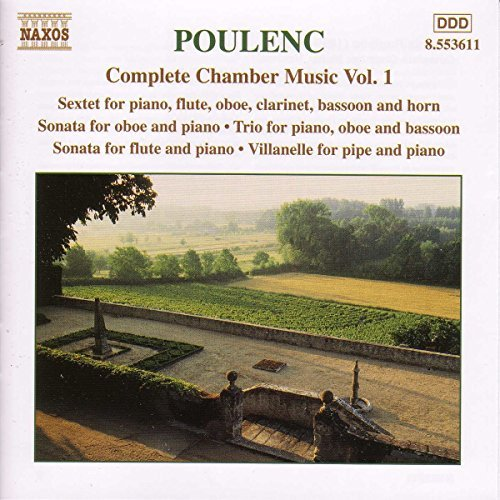 F. Poulenc Chamber Music Vol. 1 Tharaud Lefevre Bernold &