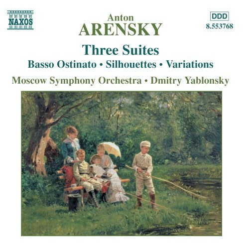 A. Arensky Stes (3) Yablonsky Moscow So