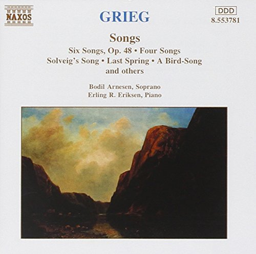 E. Grieg Six Songs Four Songs Solveigs