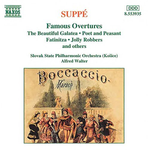 F.Von Suppe Famous Overtures Walter Slovak State Po