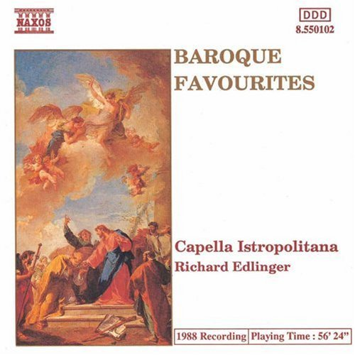 Baroque Favorites Baroque Favourites Edlinger Capella Istropolitana