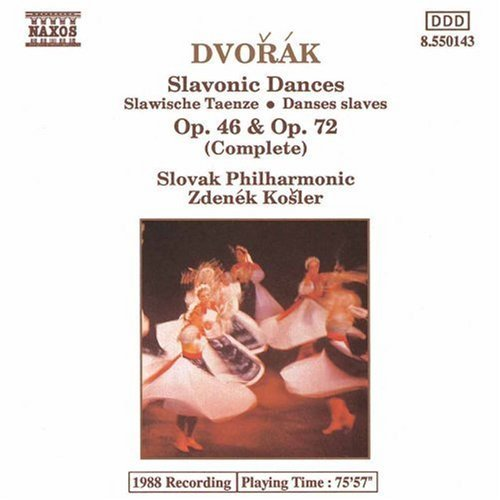 Antonin Dvorák Slavonic Dances Comp Kosler Slovak Phil