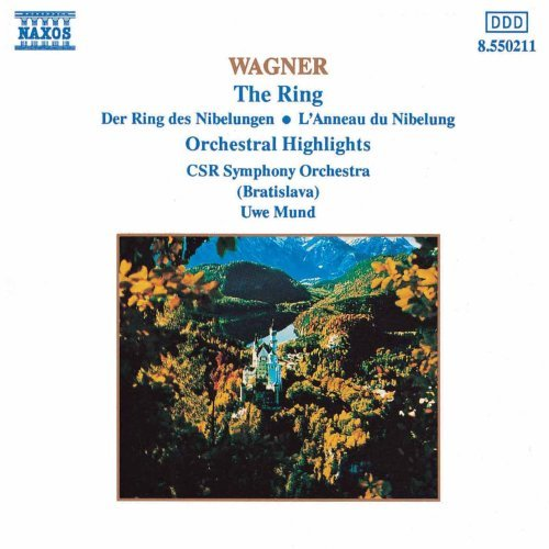 Richard Wagner Ring Orch Hlts Mund Cssr So