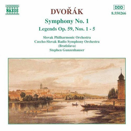 Antonin Dvorák Sym 1 Legends 1 5 Gunzenhauser Various