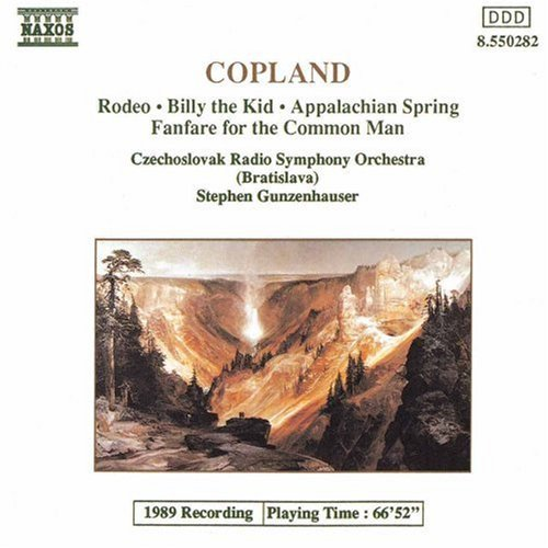 A. Copland Rodeo Billy The Kid Gunzenhauser Csr So