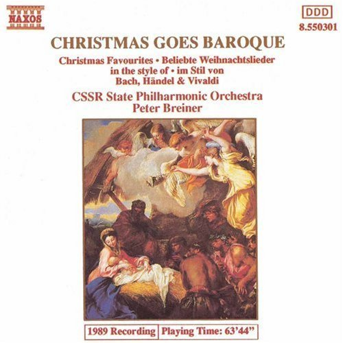 Christmas Goes Baroque Christmas Goes Baroque Vol. 1 Breiner Cssr State Phil Orch