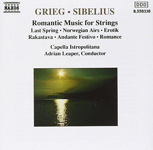 Grieg Sibelius Romantic Music For Strs Leaper Capella Istropolitana