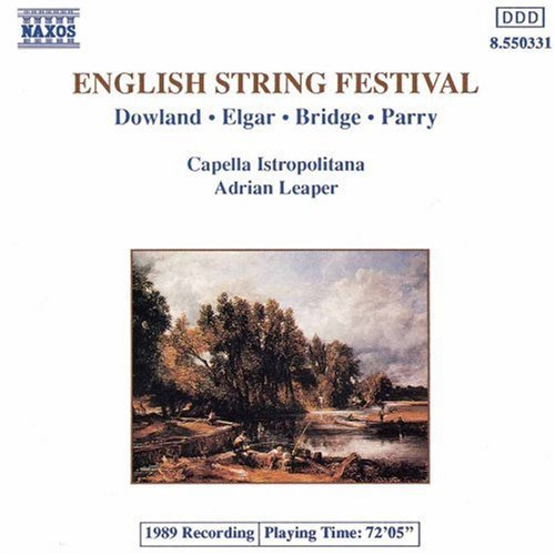 English String Festival English Music For String Orche Leaper Capella Istropolitana