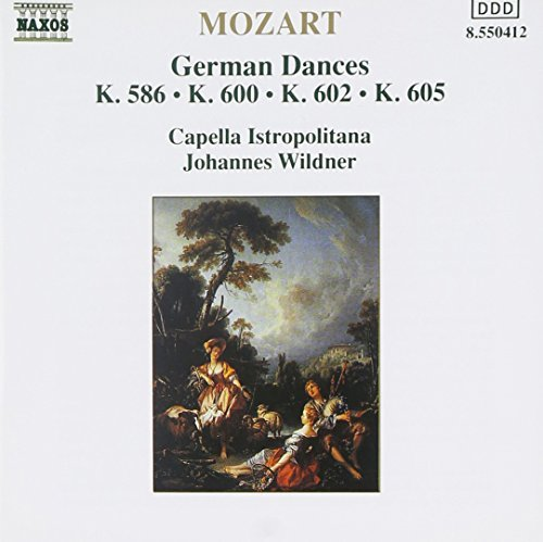 Wolfgang Amadeus Mozart German Dances Wildner Capella Istropolitana