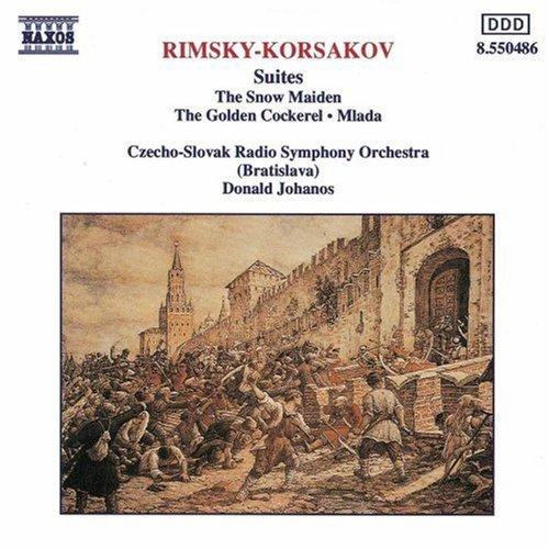 N. Rimsky Korsakov Snow Maiden Ste Golden Cockere Johanos Czecho Slovak Rso