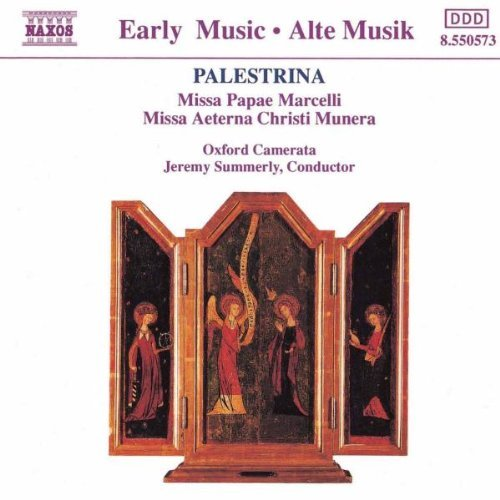 G. Palestrina Missa Papae Marcelli Summerly Oxford Camerata