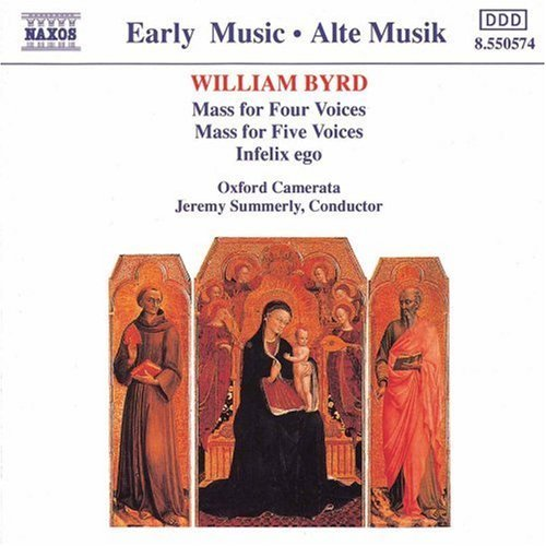 W. Byrd Masses For Four & Five Voices Summerly Oxford Camerata