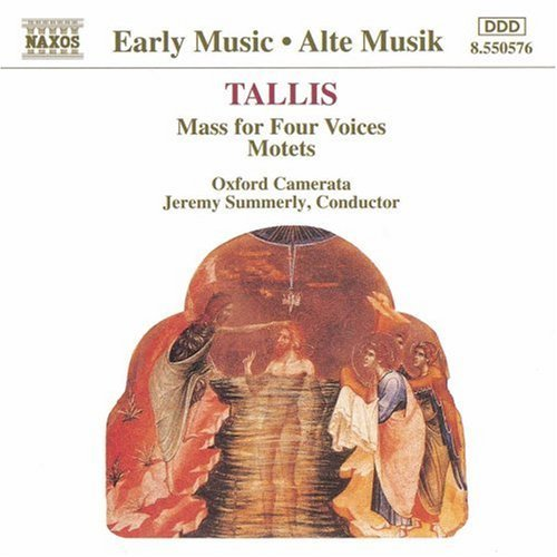 T. Tallis Mass For Four Voices Motets Summerly Oxford Camerata