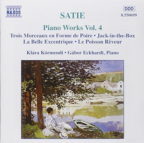 E. Satie Piano Works Vol. 4 Kormendi (pno) Eckhardt (pno)