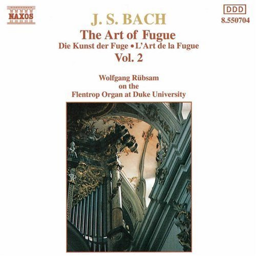 Johann Sebastian Bach Art Of Fugue Vol. 2 Rubsam*wolfgang (org)