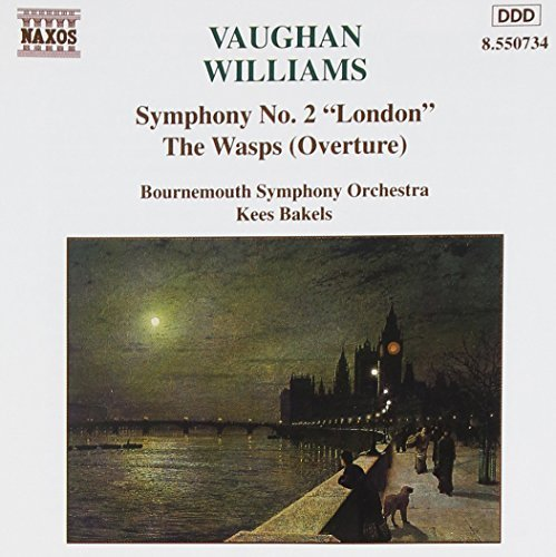 R. Vaughan Williams Sym 2 Wasp Ovt Bakels Bournemouth So