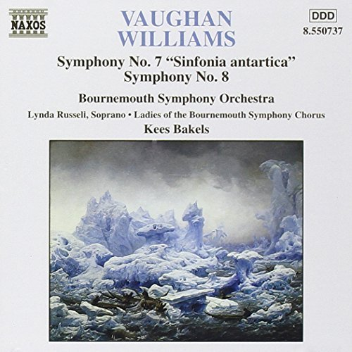 R. Vaughan Williams Sinf 7 8 Russell*lynda (sop) Bakels Bournemouth So