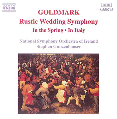 K. Goldmark Sym Rustic Wedding Gunzenhauser Natl So Of