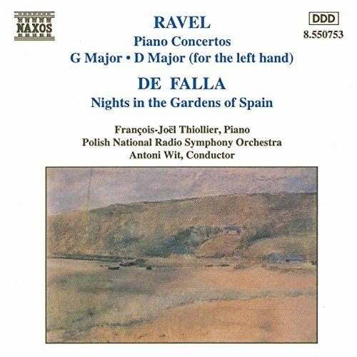 Ravel Falla Con Pno (2) Nights In The Gard Thiollier*francois Joel (pno) Wit Polish Natl Rso