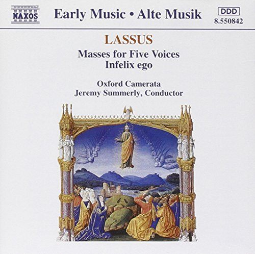 O. Lassus Masses For Five Voices Summerly Oxford Camerata