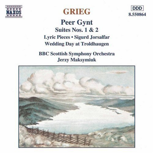 E. Grieg Peer Gynt Ste 1 2 Lyric Pieces Maksymiuk Bbc Scottish So