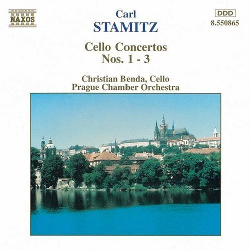 C. Stamitz Cello Concertos Benda*christian (vc) Prague Co