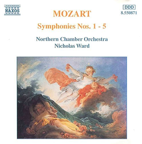 Wolfgang Amadeus Mozart Sym 1 5 Ward Northern Co