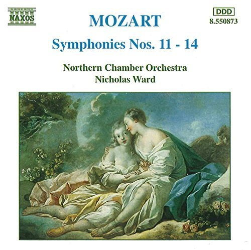 Wolfgang Amadeus Mozart Sym 11 14 Ward Northern Co