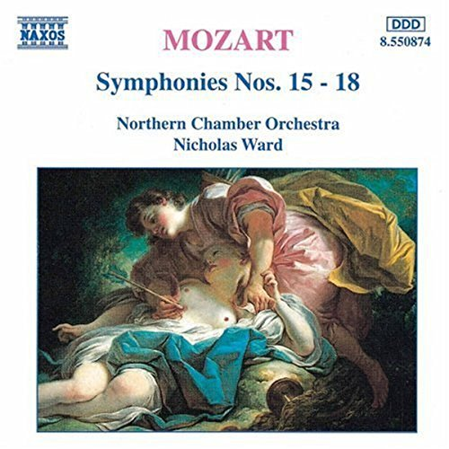 Wolfgang Amadeus Mozart Sym 15 18 Ward Northern Co