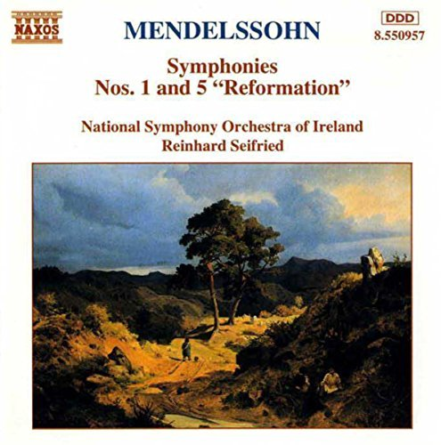 Felix Mendelssohn Sym 1 5 Seifried Ireland Natl So