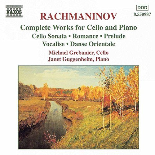 S. Rachmaninoff Complete Works For Cello & Pia Grebanier (vc) Guggenheim (pn