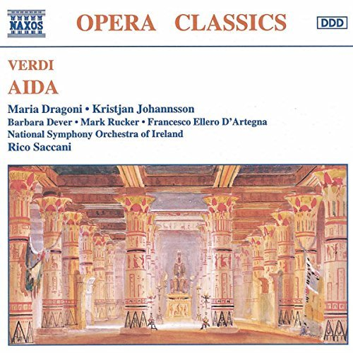 Giuseppe Verdi Aida Dever Rucker D'artegna & Saccani Ireland Natl So