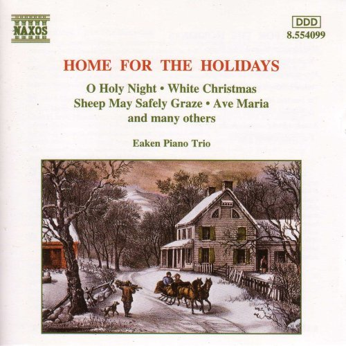 Eaken Piano Trio Home For The Holidays Eaken Pno Trio