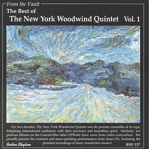 New York Woodwind Quintet Best Of Vol. 1