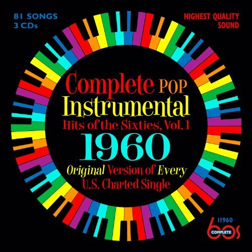 Complete Pop Instrumental Hits Vol. 1 1960 3 CD